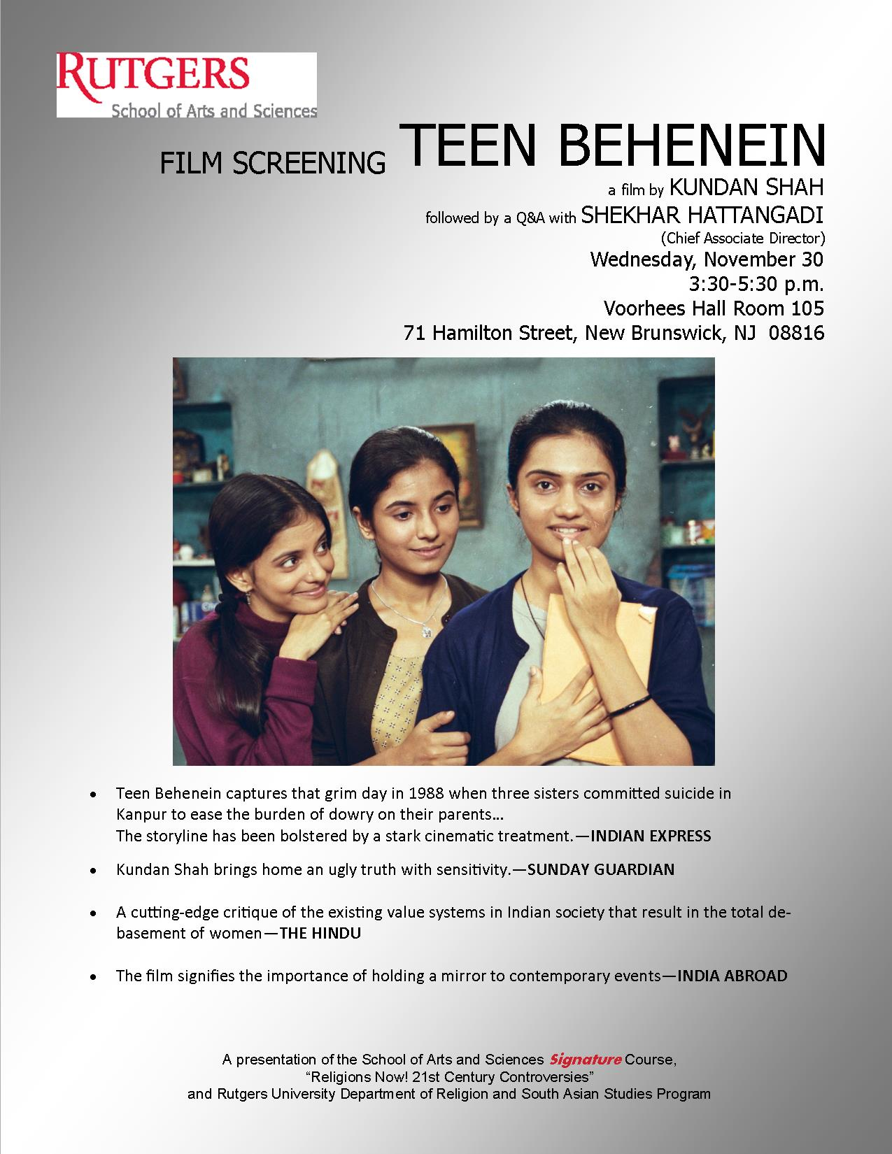 Flyer-Teen-Behenein