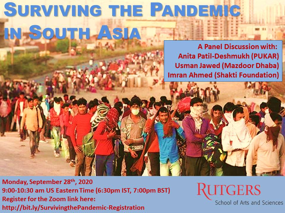 Surviving the Pandemic in South Asia
